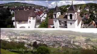 Über den Dächern von Lörrach-Stetten / Above the roofs of Loerrach-Stetten