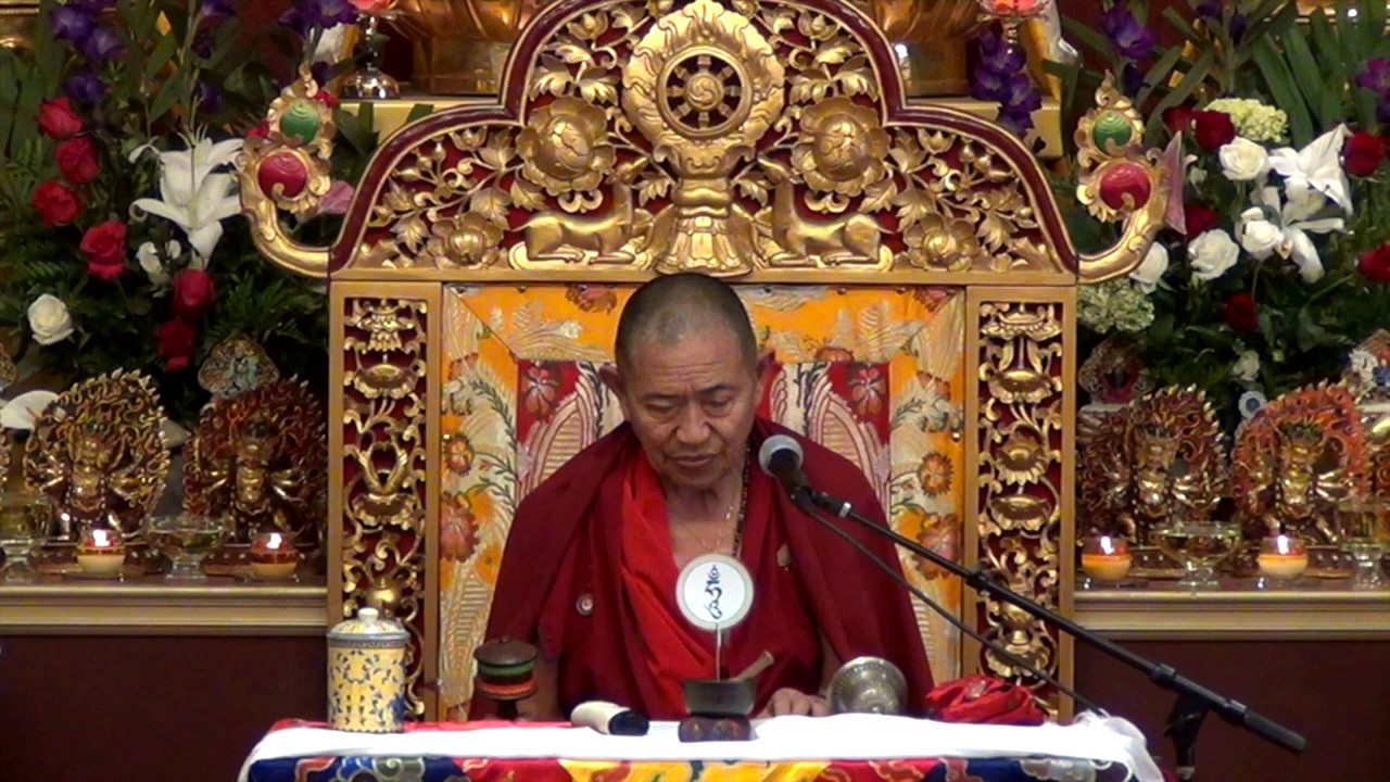 Garchen Rinpoche 040117 Teaching on Red Yamantaka Completion Stage Part 2  Trans Ina ma & Rocc