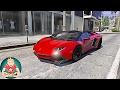 ✪ GTA 6 Graphics - Natural Vision 2.0 - 2017 Lamborghini Aventador LP750-4 Superveloce Roadster! mp3 indir