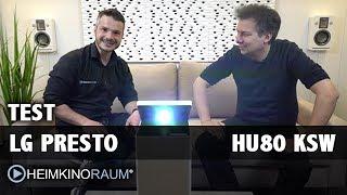 Vorstellung LG PRESTO 4K HDR Laser Beamer HU80KSW mit Ekki Schmitt