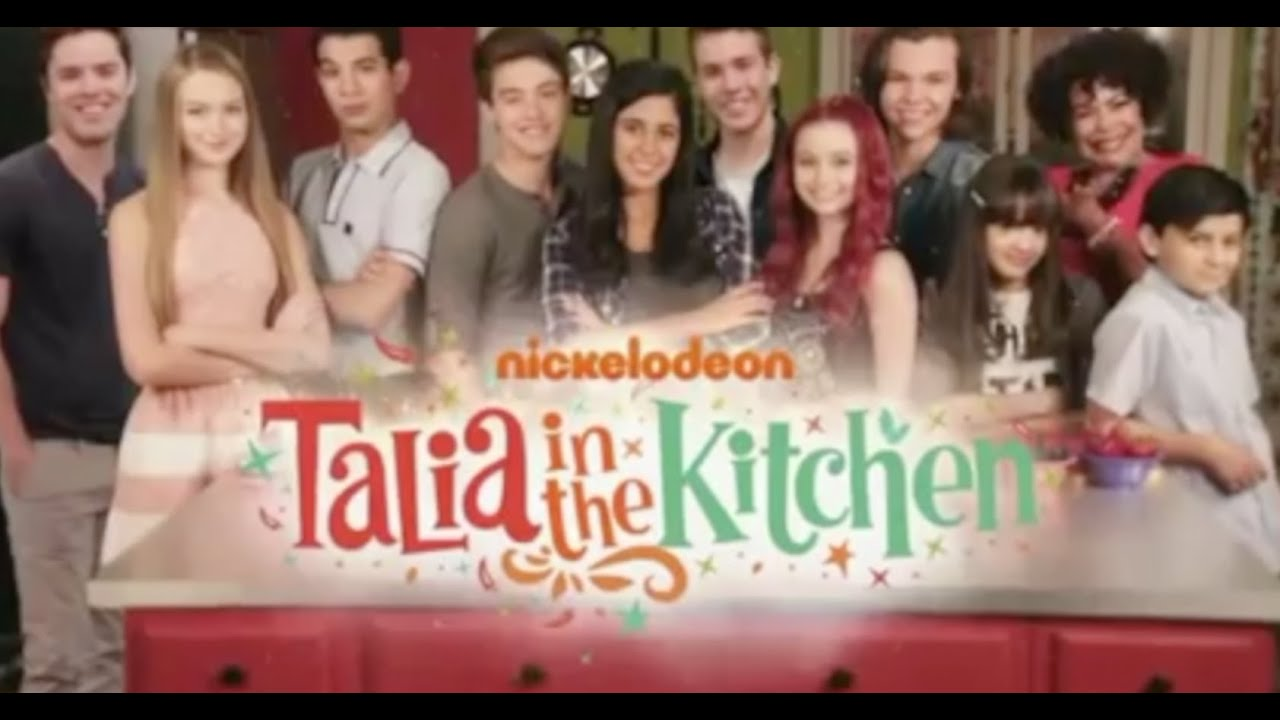 The Kitchen Cast hd) talia in the kitchen | season 2 | theme song - youtube
