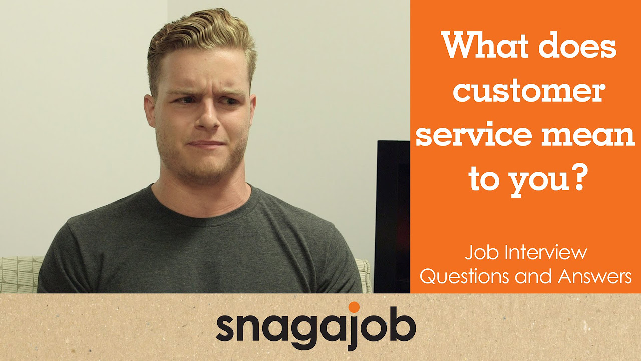 video series what does customer service mean to you