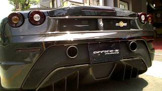Ferarri F430 Scuderia 16M Power Craft exhaust sound OFFICE-K TOKYO