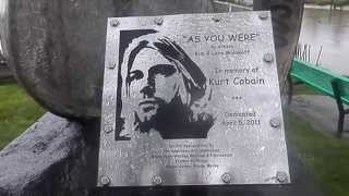 From the Muddy Banks of the Wishkah- Kurt Cobain, Aberdeen, Underneath the Bridge and Park Tribute