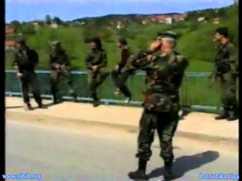 Bosnia '95 - UN soldiers taken hostage by the Serbs