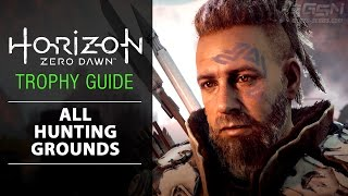 "Horizon Zero Dawn - ""Blazing Suns at all Grounds"" Trophy (All the Hunting Grounds)"