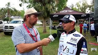 Randy Van Alstine Chats With Anthony Gagliardi At The FLW Harris Chain Of Lakes Tourny