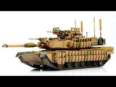 M1A2 ABRAMS SEP TUSK II - 1/72 Tiger Model - tank model