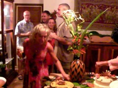Sari's B-day party 2, Rendezvous Restaurant, Ambergris Caye, Belize