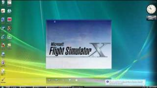 Simple way to download airplanes onto FSX (Vista & XP)