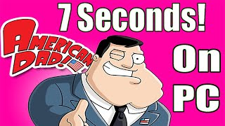 I Set a New American Dad Speedrun Record at 7 Seconds (Any% Pc Spreedrun - New and Old Glitches)