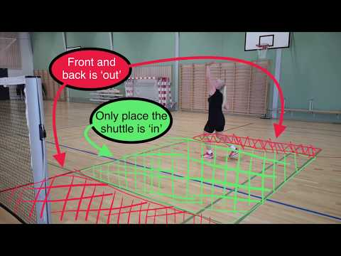 BADMINTON EXERCISE #69 - MIDDLE COURT GAME
