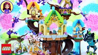 Lego Elves The Elvenstar Tree Bat Attack Speed Build - Kids Toys