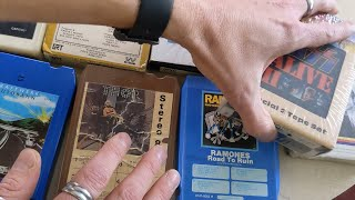 10 Most Valuable 8-Track Tapes in my collection!