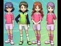 Inazuma Eleven Go Strikers 2013 Raimon Go VS Inazuma Girls