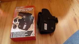 Holster ambidextre Swiss Arms noir (type MOLLE)