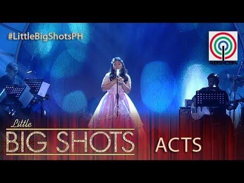 Little Big Shots Philippines: Elha   13 year old Big Shot Belter