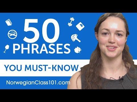 50 Phrases Every Norwegian Beginner Must-Know