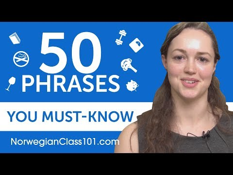 50 Phrases Every Norwegian Beginner Must-Know