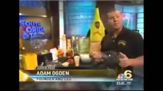 JUICEBLENDZ Smoothie Business  Entrepreneur Adam Ogden on NBC Healthy Food Franchises