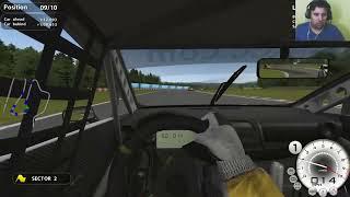 GTR Evolution 1080p Gameplay- I5 6600K GTX1060 6GB Thrustmaster T300rs