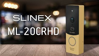 Slinex ML-20CR HD review. Individual outdoor panel with AHD/CVBS support and ID card reader