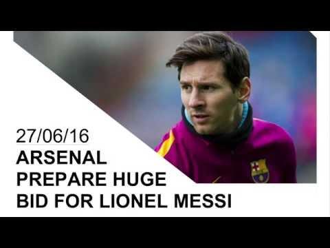 Arsenal prepare world record bid for Barcelona superstar Lionel Messi | Transfer Talk