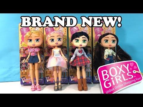 Brand New Boxy Girls