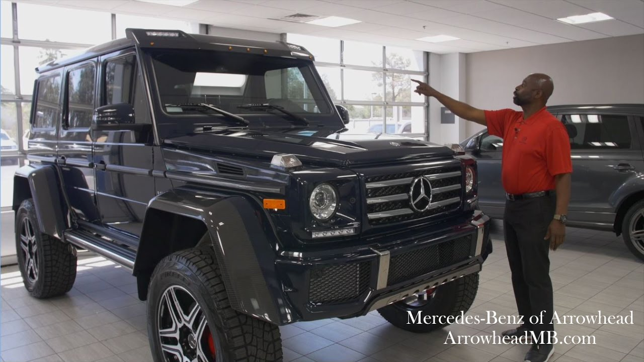 Extreme-G Mercedes-Benz G 500 4×4² from Mercedes Benz of Arrowhead