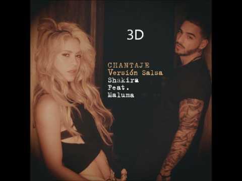 Shakira - Chantaje [3D AUDIO] (High Quality)
