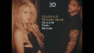 Shakira - Chantaje [3D AUDIO] (High Quality)