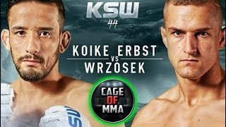 KSW 44 - Marcin Wrzosek vs Kleber Koike Erbst 2