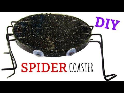 Fun Resin Spider Coaster ~ Halloween DIY ~ Another Coaster Friday ~ Craft Klatch