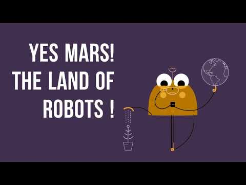 Mars: Land of the Robots!