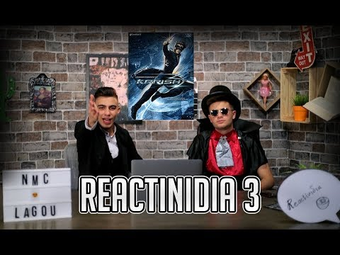Reactinidia - Krrish 3 (Bollywood Movie)