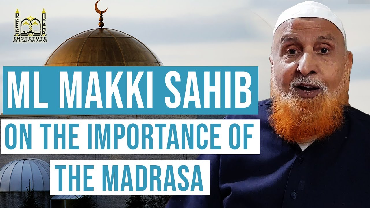 Special Message: Ml. Makki al-Hijazi db on IIE - the Institute of Islamic Education, Chicago