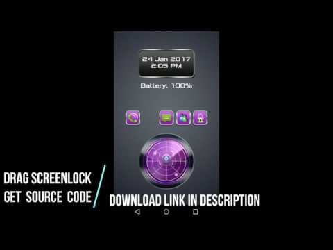 Android Source Code: Drag Screenlock Android App Source Code Download Here
