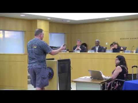 Bergen County Freeholders - 080917 FH Public Meeting