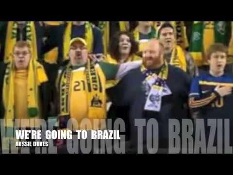 WE ARE  GOING  TO  BRAZIL   2014   SOCCEROOS. Soccer Australia