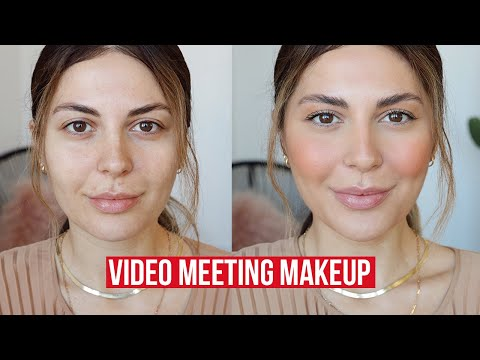 5min Makeup For Video Conferencing