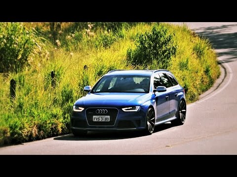 Audi RS 4 Avant no uso com Bob Sharp