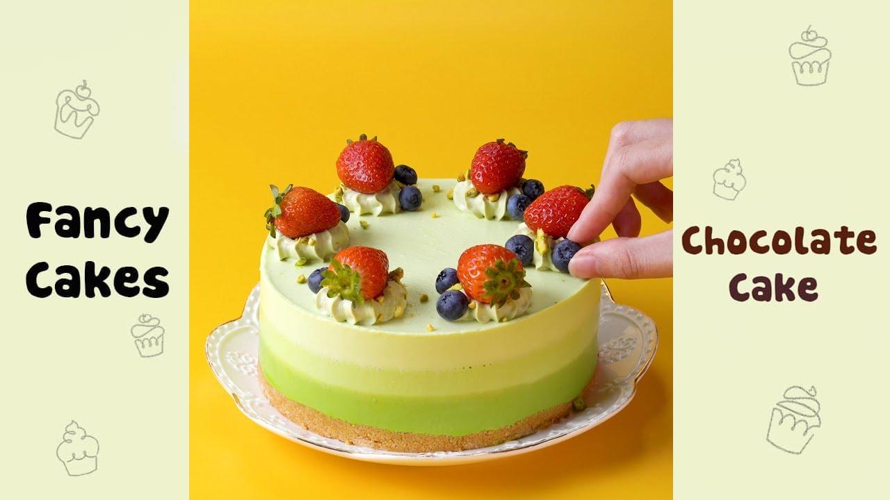 Yummy Mousse Cake Decorating Recipes #shorts