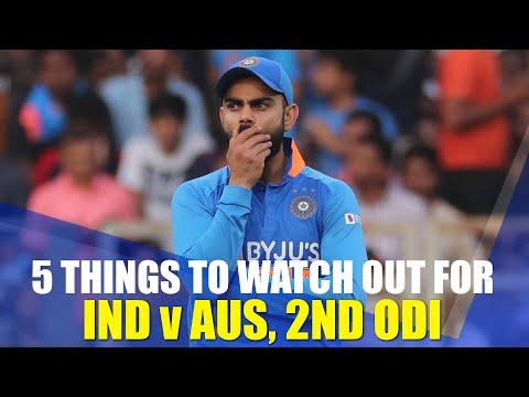 All Eyes On India's Batting Order | India V Australia, 2nd ODI Preview