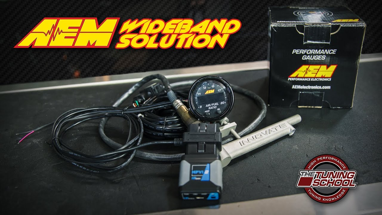 AEM X-Series OBDII Wideband UEGO AFR Controller Gauge
