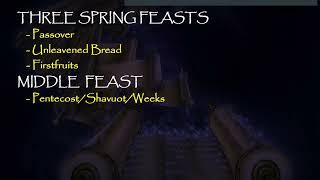 The Feast of Trumpets/Rosh HaShanah/Yom Teruah