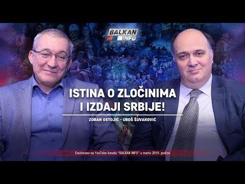AKTUELNO: Istina O Zločinima I Izdaji Srbije - Zoran Ostojić I Uroš Šuvaković (24.3.2019)