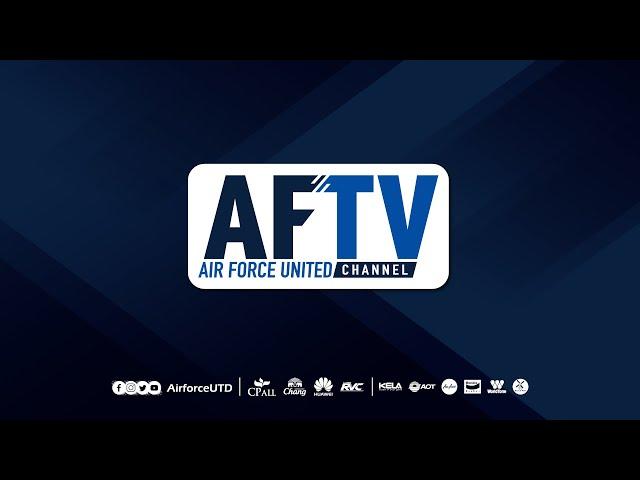 AFTV : INSIDE TRAINING [ Air Force Robinson FC ]