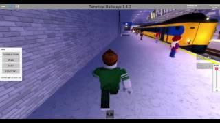 Roblox Terminal Railways kurzimpression von einem IC M(laut spiel)