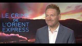 """Interview de Kenneth Branagh pour """"Le Crime de l'Orient Express"""""""