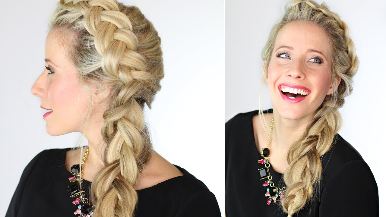 The Dutch Side Braid Youtube